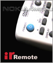 irRemote - Программа для Symbian