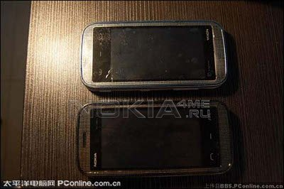 Шпионские фото тачфона Nokia 5900 XpressMusic!