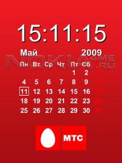 MTC Calendar - Flash Wallpapers 240x320 FL2