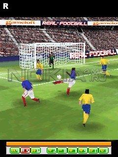Real Football 2009 HD - Игра для Symbian 9.x