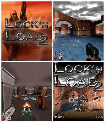 Blaze Lock'N Load 2 v0.90 OS8 - Игра для Symbian 8