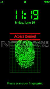 FingerPrint Scanner for 5800 & N97 - Программа - сканер отпечатков пальцев
