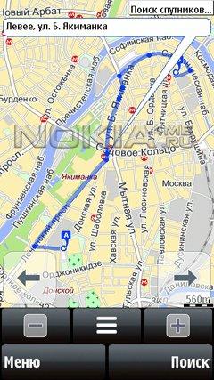 Мобильные Яндекс.Карты - Программа для Symbian v5