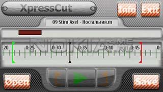 XpressCut - Программа для Nokia 5800 и N97