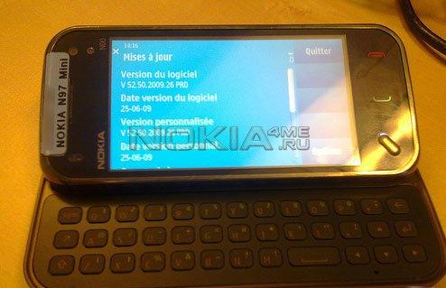 Nokia N97 Mini - Первые живые фотографии