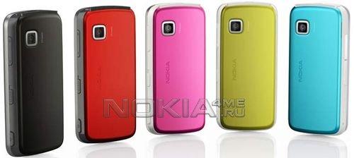 Новый сенсорный смартфон Nokia 5230