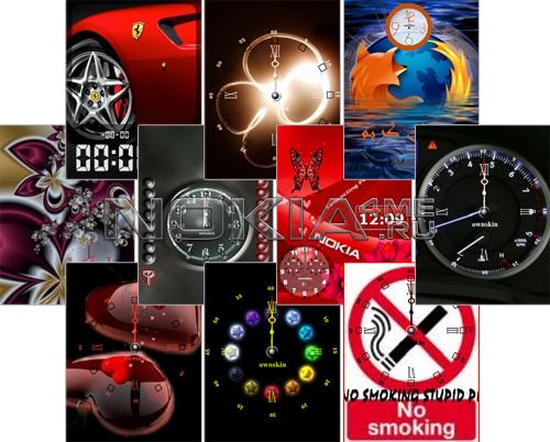 Ownskin's Flash Clocks. Pack №4