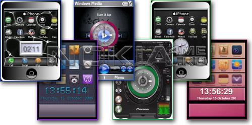 6 Flash Clocks Flash Lite 2.х