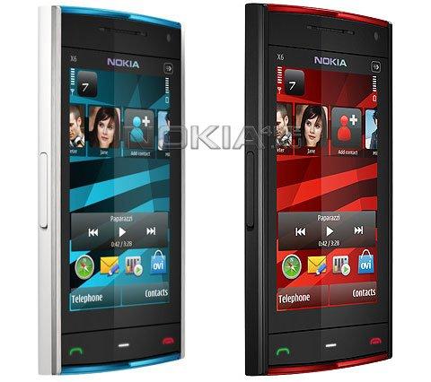Музыкальный флагман Nokia X6 доступен для предзаказа в Великобритании