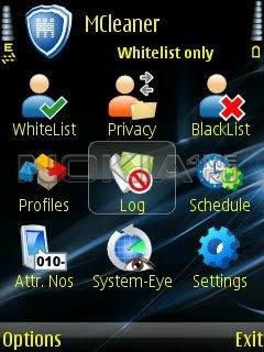 MCleaner - Чёрный и белый список звонков и сообщений на Symbian 9!