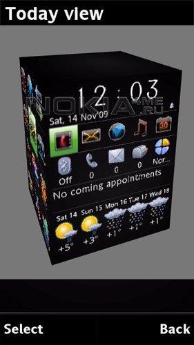 Handy Shell v.2.0 Beta - Мультифункциональный рабочий стол для Symbian