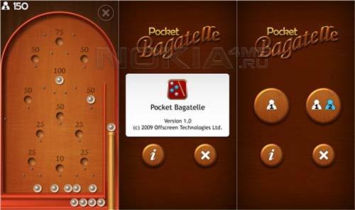 Offscreen Bagatelle Touch v1.0 - Sis игра для Symbian 9.4
