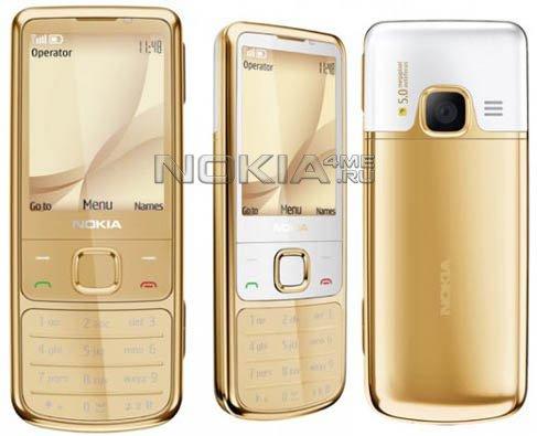 Nokia представила 6700 Classic Gold Edition в позолоченном корпусе