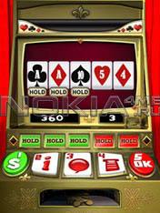 Video Poker Touch - Sis игра для Symbian 9.4