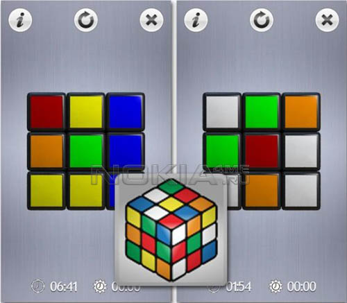 Cube Touch - Sis игра для Symbian 9.4