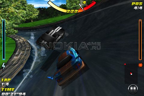 Raging Thunder - игра для Symbian 9.4