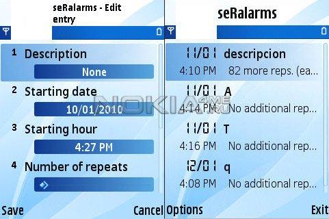 seRalarms v1.0