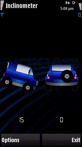 Inclinometer - Измерь угол крена своего автомобиля