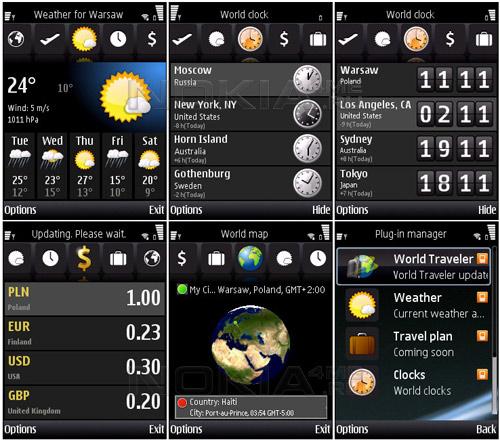 Psiloc World Traveler - Погода на 5 дней на экране вашего смартфона
