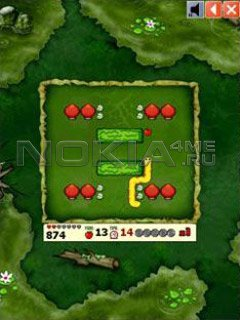 Snake Deluxe 2 - Symbian игра