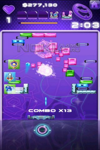 Block Breaker Deluxe 2 HD - игра для Symbian 9.4