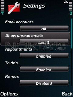 AgendaSaver - Скринсейвер для Symbian 9