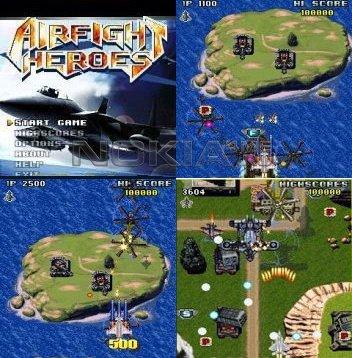 Airfight Heroes - Игра для Symbian 9.1 / 9.2 / 9.3