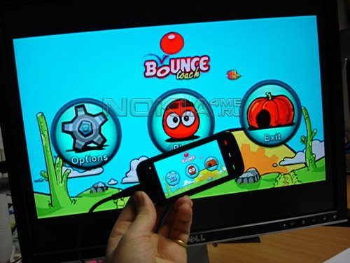 5800 Bounce Touch - Sis Game For Nokia N97