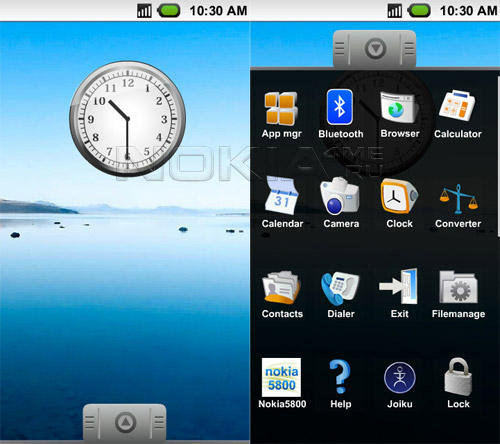 M1 - Оболочка в стиле Google Android для Symbian 9.4