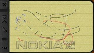 Notebook Touch - Создавай рукописные заметки на Symbian 9.4 S60v5