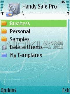 Handy Safe Pro - Безопасное хранение данных на Symbian смартфоне!