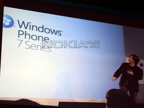 Nokia готовит смартфон на базе Windows Phone 7