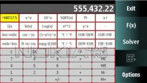 My Calcul - Многофункциональный калькулятор для Symbian 9