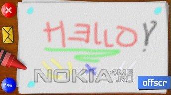 Crayons Touch - рисовалка Symbian 9.4