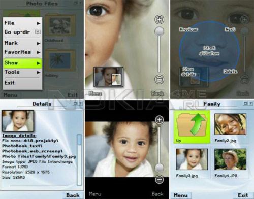 PhotoBook - Удобная работа с фотографиями на смартфоне!