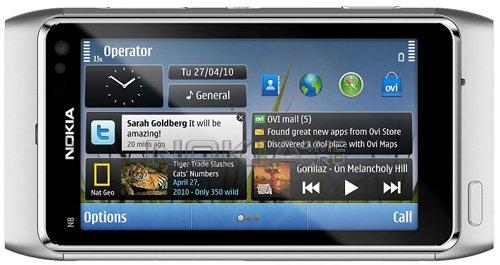 Работа галереи на Nokia N8. Видео.