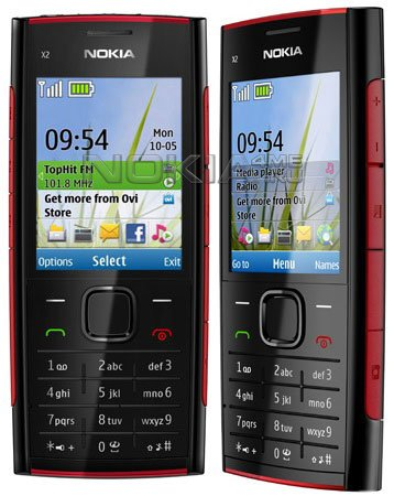 Официальный анонс бюджетного музыкального телефона Nokia X2