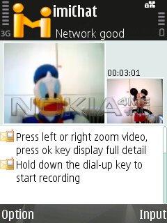 imiChat - Чат + видео звонки на Symbian