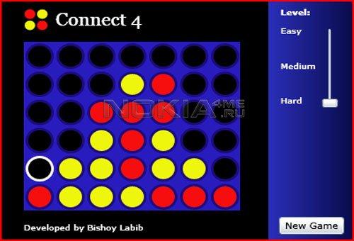 Connect4 - Sis игра для Nokia 5800, 5530, 5230 и т.п.!