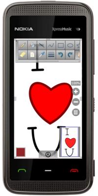 HandyPaint v.1.1 - простой, но мощный в использовании инструмент для рисования на сенсорном экране вашего мобильного устройства