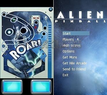 Alien Pinball 1.21 - SIS пинбол для Symbian S60v5