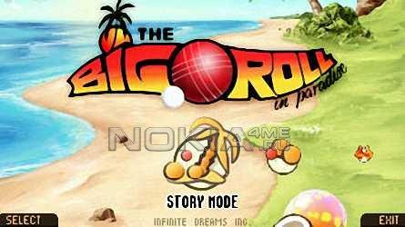 BigRollInParadise - Sis игра для Symbian S60v5