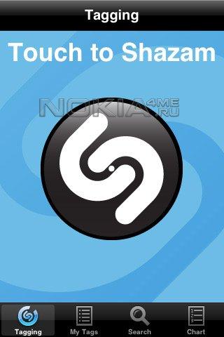 Shazam-программа для Symbian 9.*