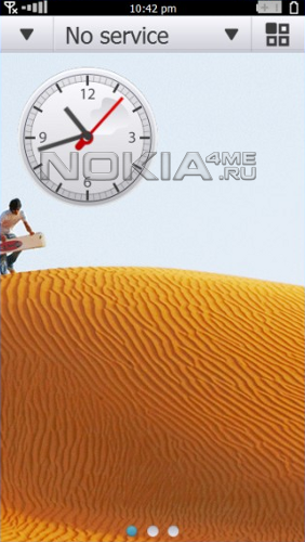Операционная система Symbian^4 на скриншотах