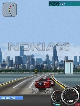 Need For Speed: Carbon Own The City Игра для Symbian 9.1, 9.3, 9.4.