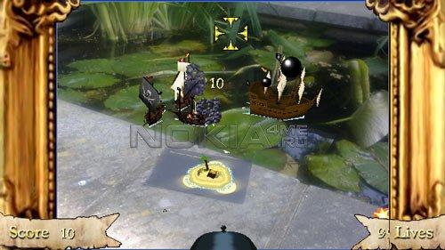 AR! Pirates - Sis игра для Symbian 9.4