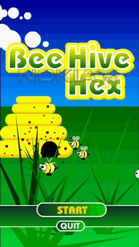 BeeHive Hex - SIS игра для Symbian S60v5