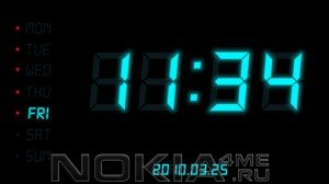 Digital Alarm Clock - Цифровые часы на Symbian S60v5