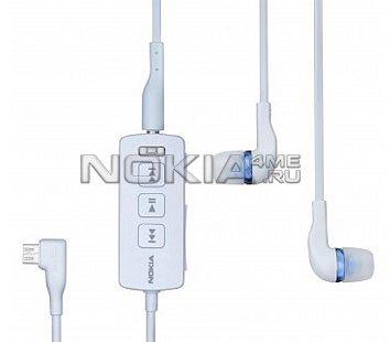 Nokia Mobile TV Headset: проводная гарнитура с ТВ-приёмником