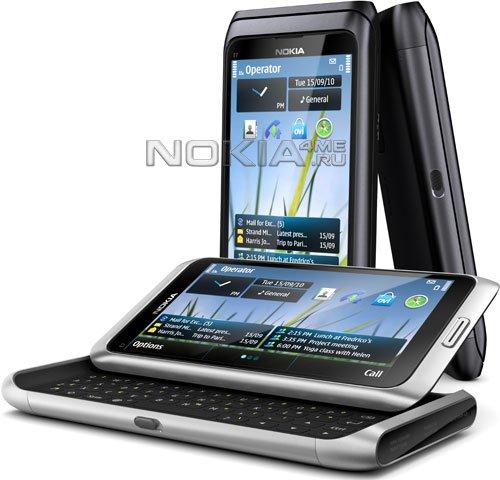 Nokia E7 официально: новый бизнес смартфон на Symbian^3